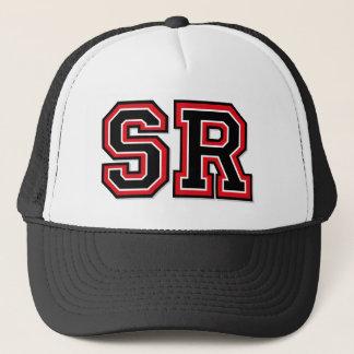 'SR' Monogram Trucker Hat