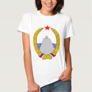 SR Montenegro coat of arms Tee Shirt
