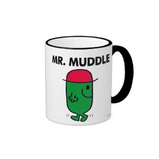 Sr. Muddle el   que camina al revés Taza A Dos Colores