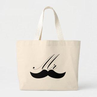 Sr Mustache Bolsas