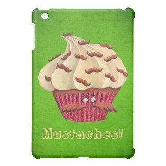 Sr. Mustached Cupcake iPad Mini Carcasas