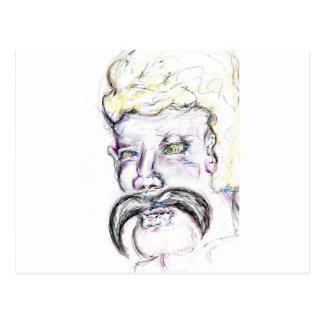 Sr. Mustachio Heraclitus Postales