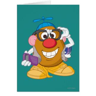 Sr. Nerdy Potato Head Tarjetón