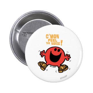 Sr. Noisy del baile de estorbo Chapa Redonda 5 Cm
