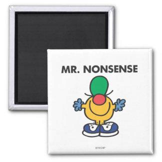 Sr Nonsense Classic Imán De Nevera