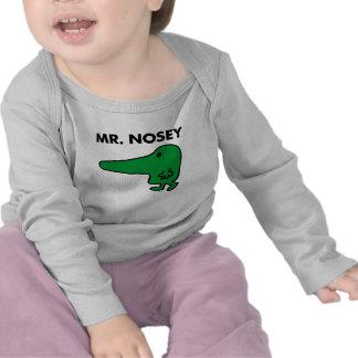 Sr. Nosey Classic Camisetas