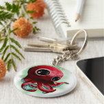 Sr. Octopus Llavero Redondo Tipo Pin