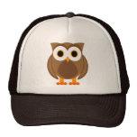 Sr. Owl Cartoon Hat Gorras