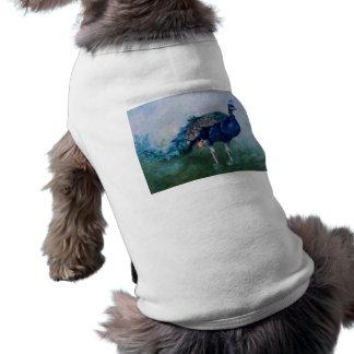 Sr. Peacock Pet Clothing Camisa De Perrito