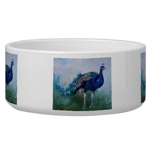 Sr. Peacock Tazones Para Perrros