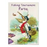 SR. PELICAN FISHING TOURNAMENT PARTY INVITACIÓN 12,7 X 17,8 CM