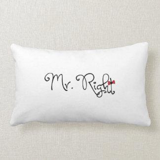 Sr. personalizado la Right Lumbar Pillow Cojín