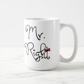 Sr. personalizado la Right Mug Taza Clásica
