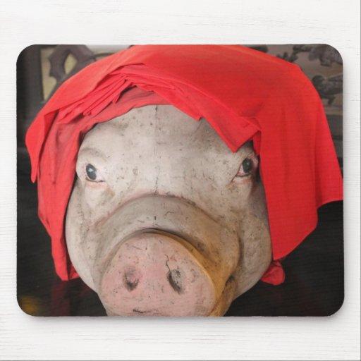 Sr. Piggy - cojín de ratón Mousepad