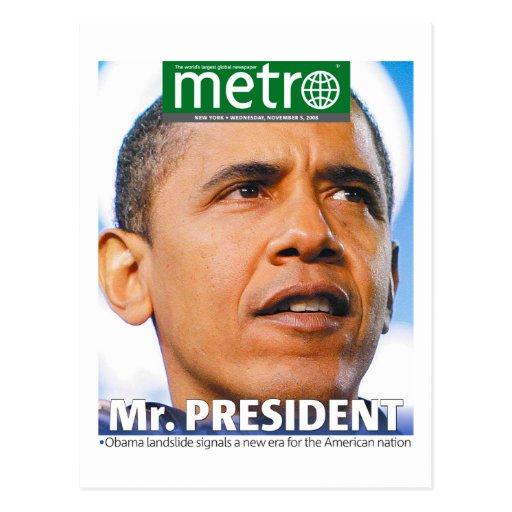 """""""Sr. postal de presidente"""" Obama"""