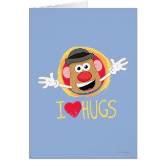 Sr. Potato Head - abrazos del amor de I Felicitaciones