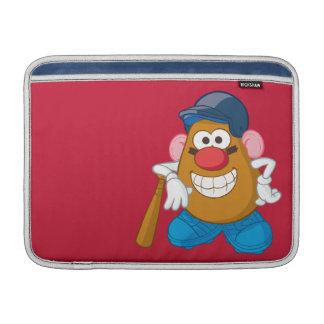 Sr. Potato Head - béisbol Funda MacBook
