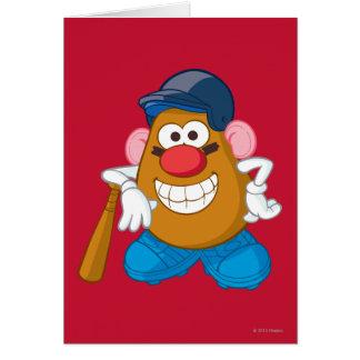 Sr. Potato Head - béisbol Felicitación