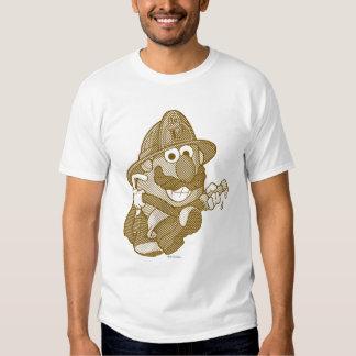 Sr. Potato Head con la manguera de bomberos Remera