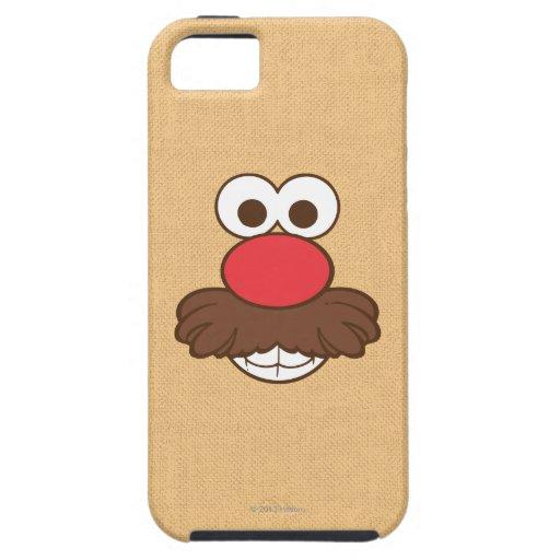 Sr. Potato Head Face iPhone 5 Carcasas