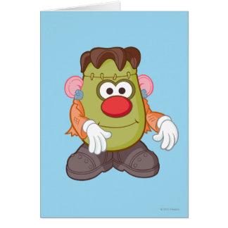 Sr. Potato Head - Frankenstein Tarjeta De Felicitación