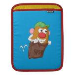 Sr. Potato Head Hopping en saco de la patata Mangas De iPad