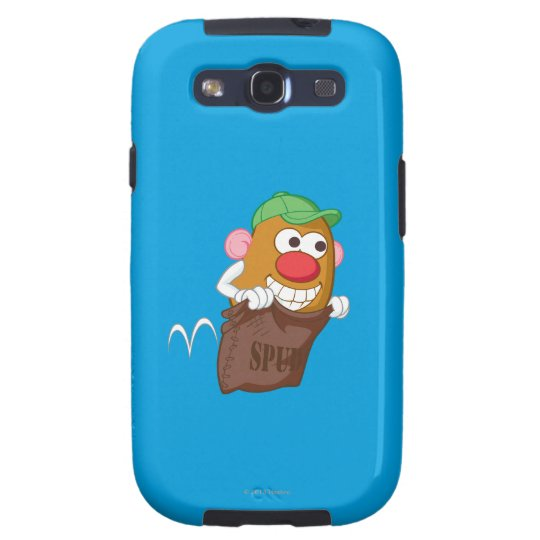 Sr. Potato Head Hopping en saco de la patata Funda Para Galaxy SIII