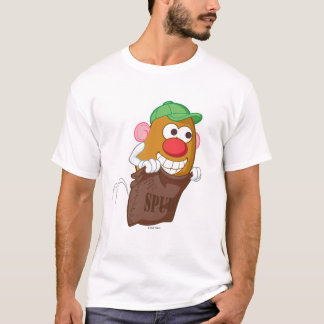 Sr. Potato Head Hopping en saco de la patata Playera