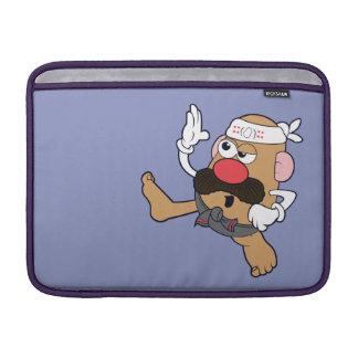 Sr. Potato Head - karate Fundas Macbook Air