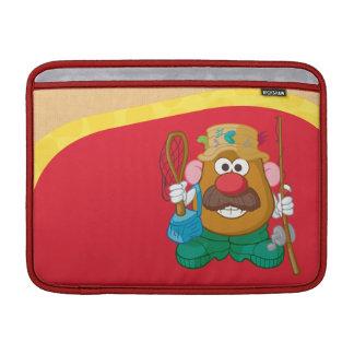 Sr. Potato Head - pescador Funda MacBook
