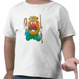 Sr. Potato Head - pescador Camisetas
