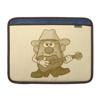 Sr. Potato Head Playing Guitar Fundas Macbook Air