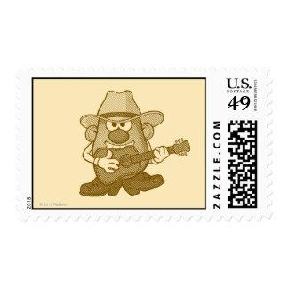 Sr. Potato Head Playing Guitar Envio