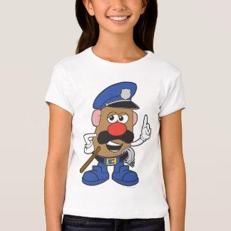 Sr. Potato Head Policeman Playera