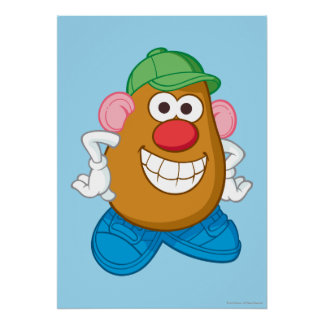 Sr. Potato Head Póster