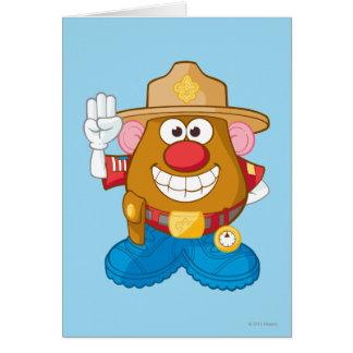 Sr. Potato Head - sheriff Tarjetón