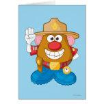 Sr. Potato Head - sheriff Tarjeta De Felicitación