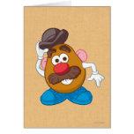 Sr. Potato Head Tipping Hat Felicitación