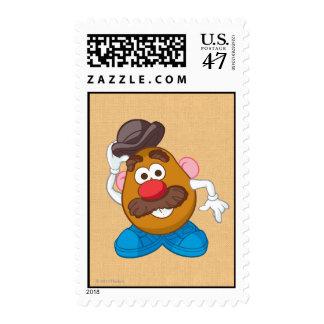 Sr. Potato Head Tipping Hat Timbre Postal