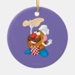 Sr. Potato Head Tossing Pizza Adorno De Reyes