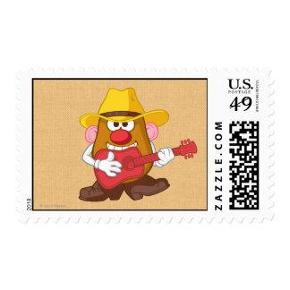 Sr. Potato Head - vaquero Sellos