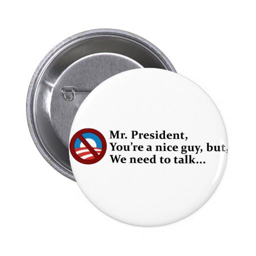 Sr. presidente, necesitamos hablar… pin