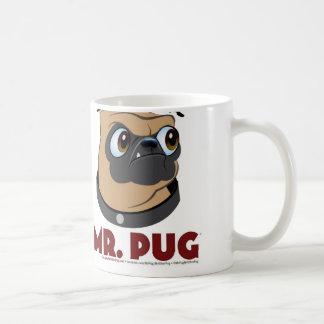 Sr. Pug Mug Tazas De Café