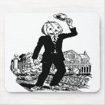 Sr. Pumpkinhead' de Halloween del vintage del kits Tapetes De Ratón