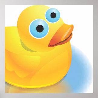 Sr. Quack de la reunión Póster