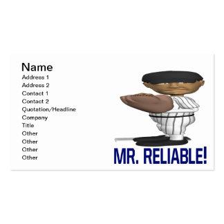Sr. Reliable Tarjetas De Visita