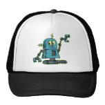 Sr. Robot Hat Gorros Bordados