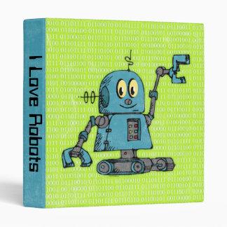"Sr. Robot Personalized Binder Carpeta 1"""