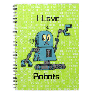 Sr. Robot Personalized Notebook Libreta