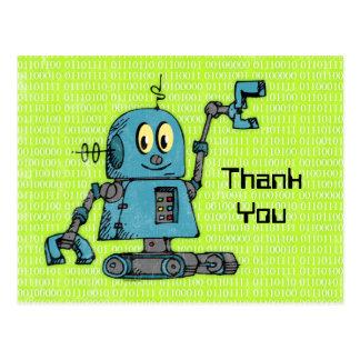Sr. Robot Postcard Tarjetas Postales